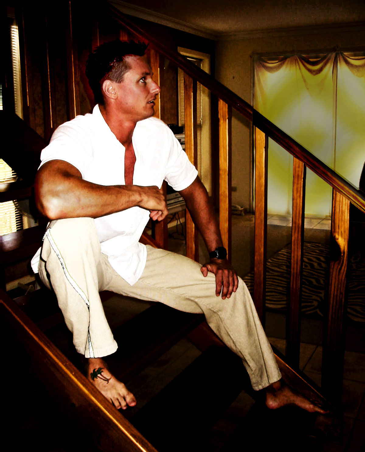 Naked Surfer