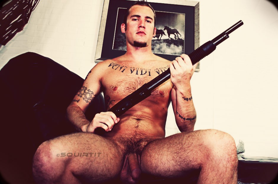 men tattoos and with piercings Naked